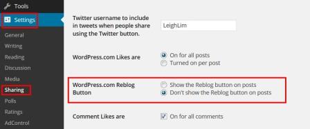 2015-03-07 - Reblogging - Steps 2 and 3